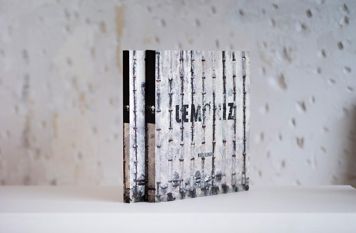 Diseño editorial libro para Govierno Vasco. Lemóniz 2012 fundazioa