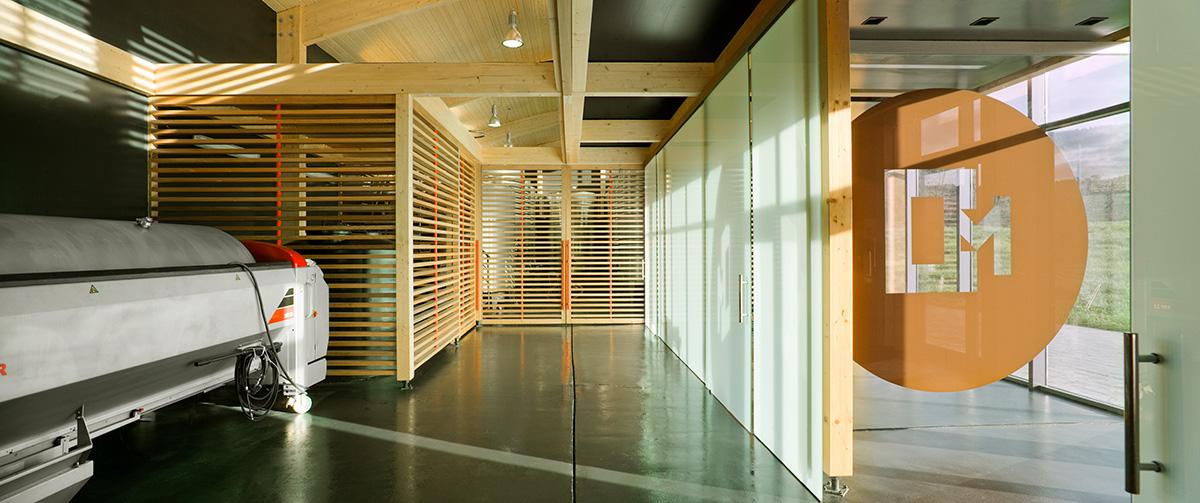 Bodegas Casona Micaela Branding espacio interior