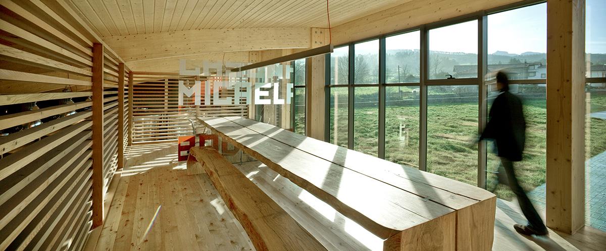 Bodegas Casona Micaela Branding y espacios interior