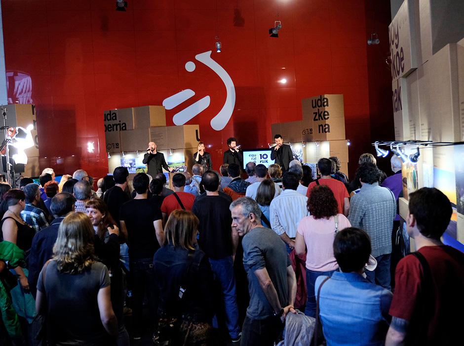 Eguraldi 10 klik Branding EITB Evento