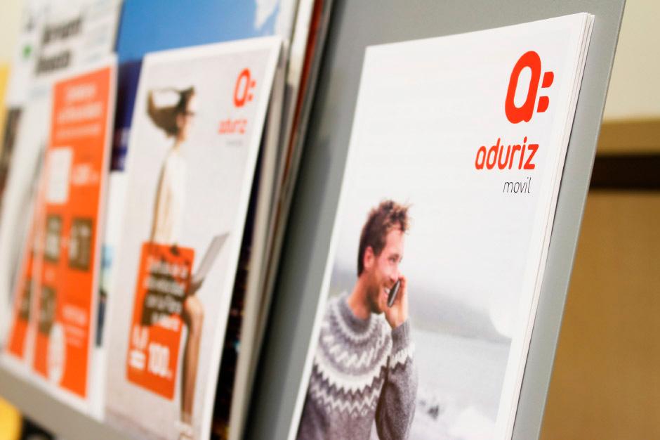Aduriz Branding diseño editorial folleto