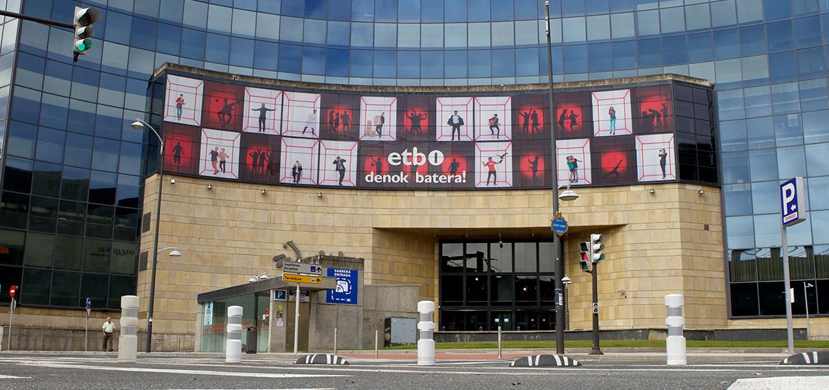 ETB Campaña publicitaria Publicidad exterior Branding