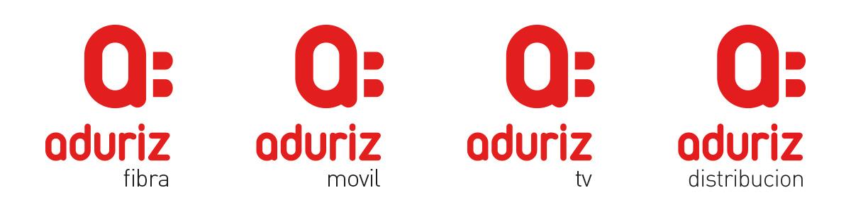 Aduriz energía branding estrategia de marca logo
