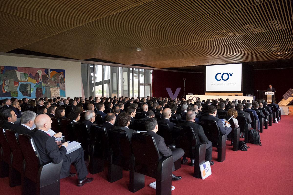 Velatia Anual meeting 2015 Branding Organización de evento Espacios
