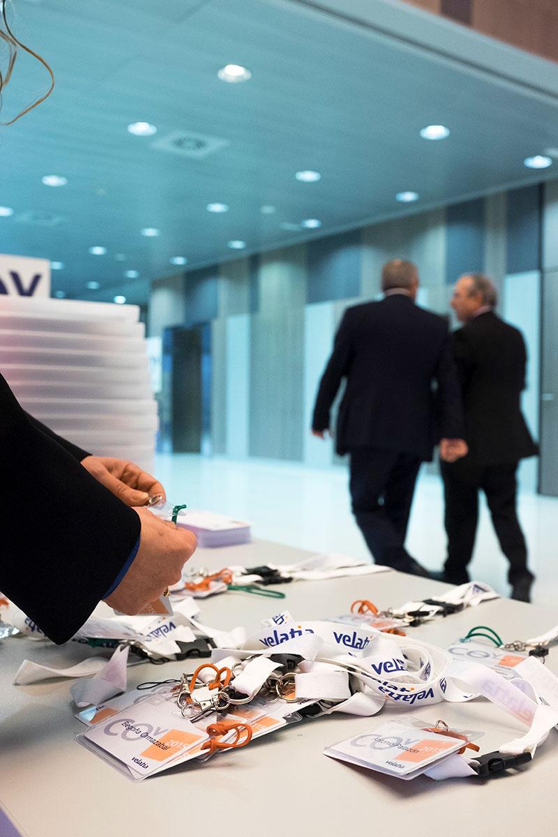 Velatia Anual meeting eventos acreditaciones Estrategia corporativa comunicación