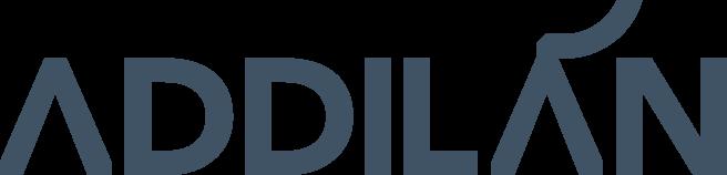 Addilan logo marca branding