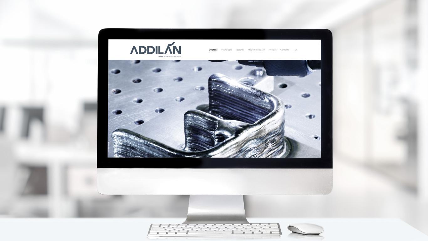 Addilan Branding Audiovisual Web