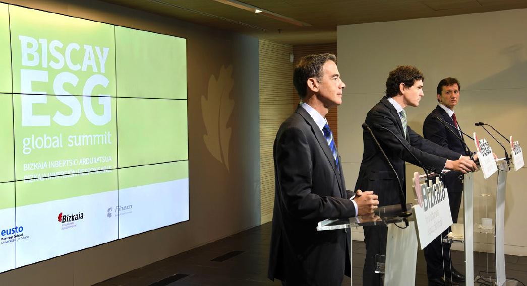 Biscay ESG global summit Eventos Corporativo