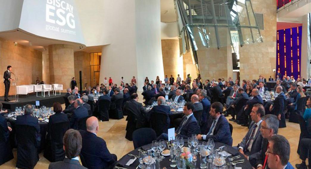 Biscay ESG Guggenheim Bilbao Eventos Corporativo