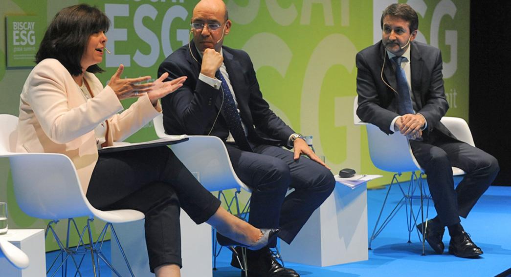 Biscay ESG Global Summit Diputación Foral de Bizkaia Branding Espacios Eventos