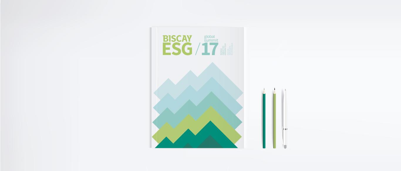 Biscay ESG Global Summit Diseño editorial Branding