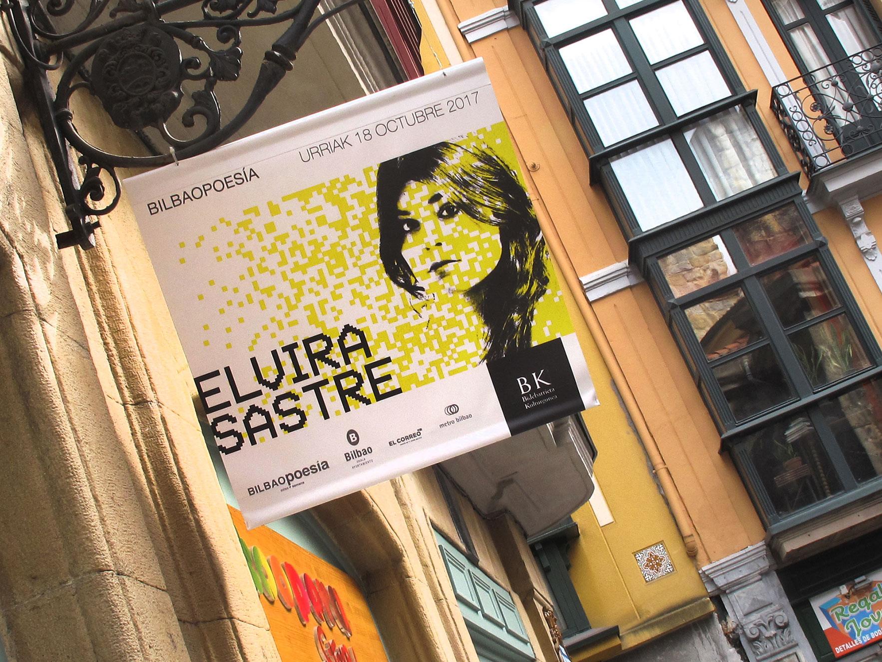 Bilbao poesía calles Bilbao branding