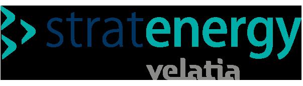 Stratenergy Velatia diseño gráfico logo