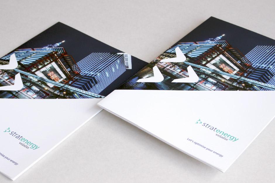Stratenergy Velatia Diseño editorial estrategia de marca dossier