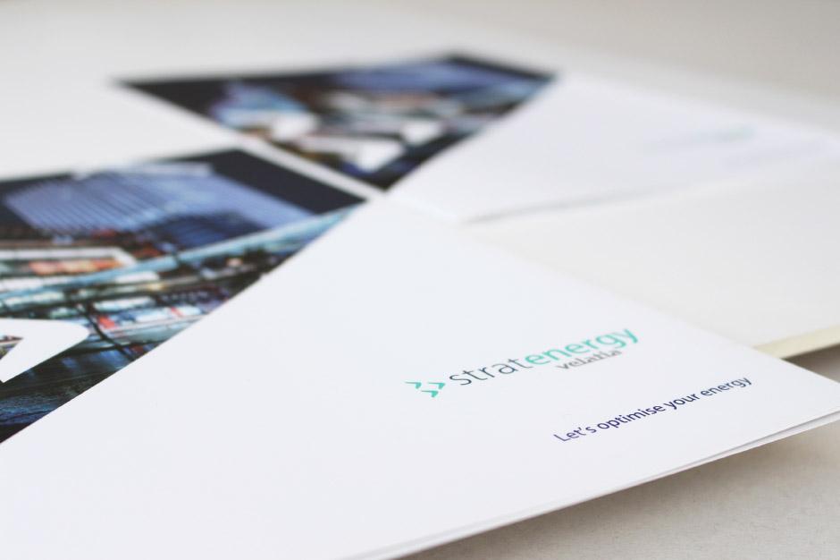 Stratenergy Velatia Diseño editorial estrategia de marca Branding