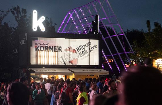 Kutxabank Korner en BBK Live 2018