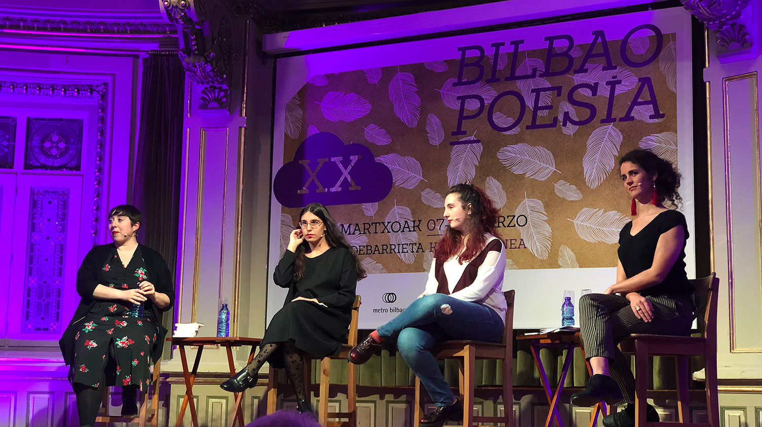 Bilbao Poesía evento mujeres charla