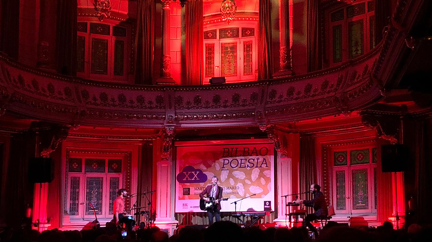 Bilbao Poesía Evento Música Comunicación Corporativa