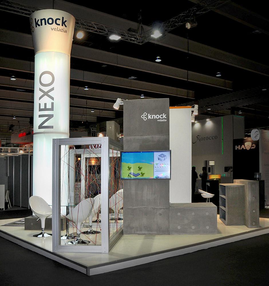 Knock Velatia Nexo lado Stands y Eventos Comunicación Corporativa Mobile World Congress Barcelona