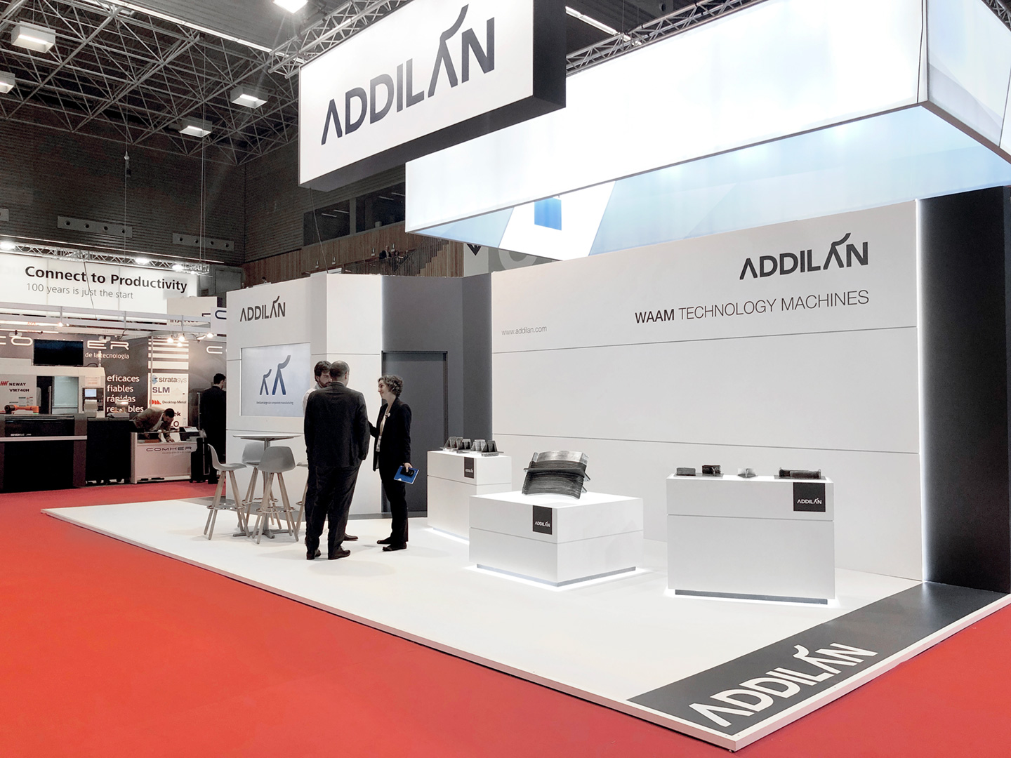 Addilan Eventos y Stands BEC plano general Feria Addit3D