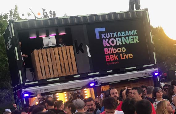 Kutxabank Korner en BBK Live 2019
